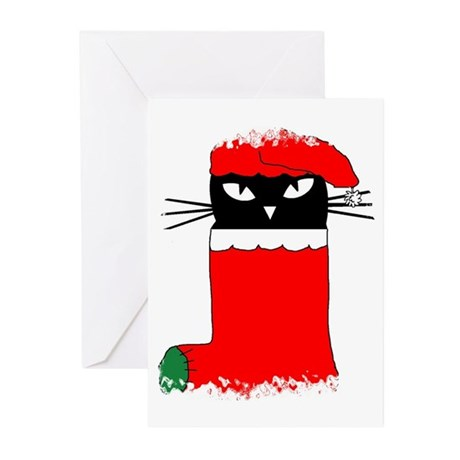LOVE MY CAT CHRISTMAS Cards (Pk of 10)
