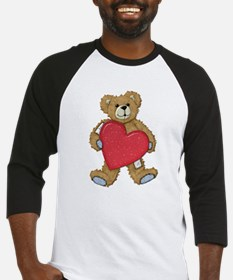 Teddy Bear Love Baseball Jersey