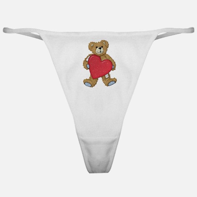 Teddy Bear Love Classic Thong