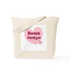 Sweet Jordyn Tote Bag