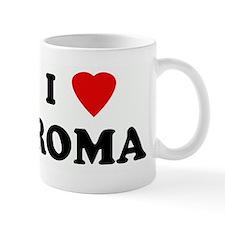 I Love ROMA Mug