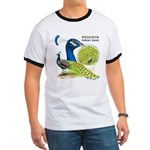 Peacock Indian Blue Ringer T