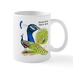 Peacock Indian Blue Mug