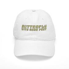 Butterfly with Sore Feet Baseball Baseball Cap