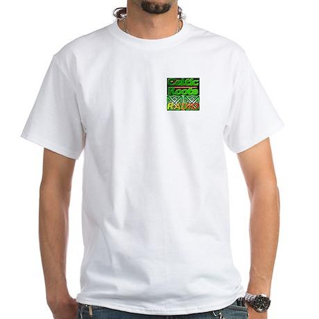 Celtic Roots - White T-Shirt