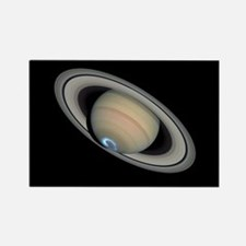 Saturn Aurora Rectangle Magnet
