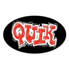 Quik Oval Decal