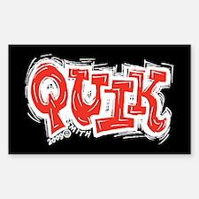 Quik Rectangle Decal