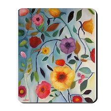 GARDEN FLOWERS Mousepad