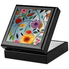 GARDEN FLOWERS Keepsake Box