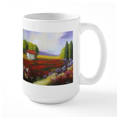 LANDSCAPE PAINTING Large Mug