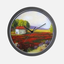 LANDSCAPE PAINTING Wall Clock