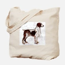 brittany spaniel portrait Tote Bag