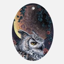 Night Magic Oval Ornament