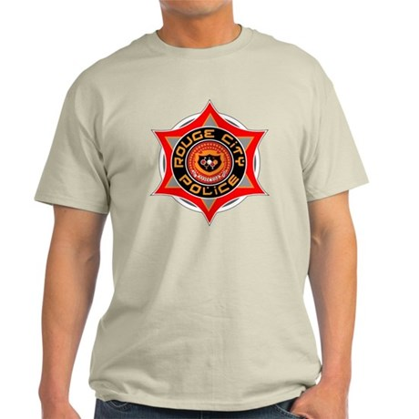 Rouge City Police Light T-Shirt