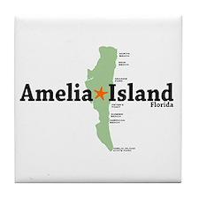 Amelia Island FL. Tile Coaster