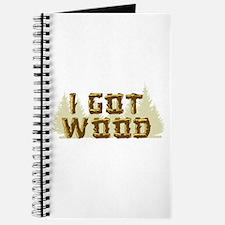 Shaun of the Dead I Got Wood Journal