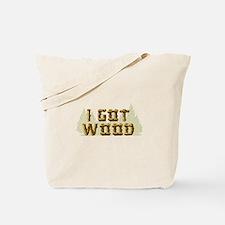 Shaun of the Dead I Got Wood Tote Bag