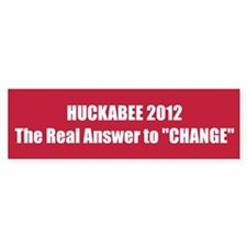 """HUCKABEE 2012 The Real Answer to """"CHANGE"""""""