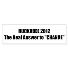 "HUCKABEE 2012 The Real Answer to ""CHANGE"""