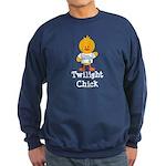 Team Jacob Twilight Chick Sweatshirt (dark)