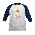 Team Jacob Twilight Chick Kids Baseball Jersey