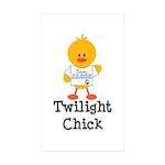 Team Jacob Twilight Chick Rectangle Sticker 10 pk