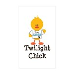 Team Jacob Twilight Chick Rectangle Sticker 50 pk