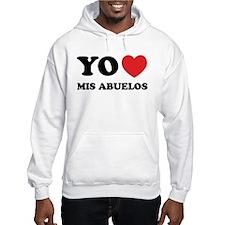 Yo Amo Mis Abuelos Hoodie Sweatshirt