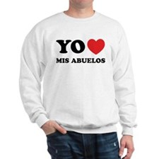 Yo Amo Mis Abuelos Sweatshirt