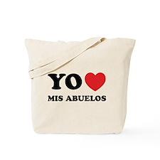 Yo Amo Mis Abuelos Tote Bag