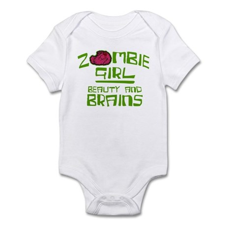 Zombie Girrl Infant Bodysuit