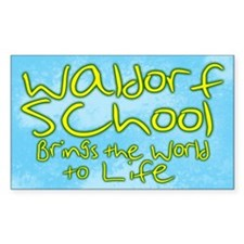 Waldorf School (Brings the World to Life) Decal