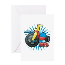 Rolling on 20's Greeting Card