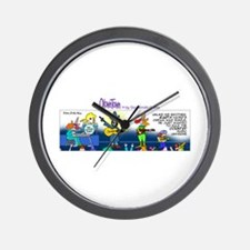 Cute Vader Wall Clock