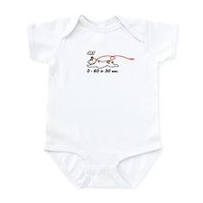 JRT 0-60 in 30 sec. Infant Bodysuit