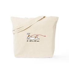 JRT 0-60 in 30 sec. Tote Bag