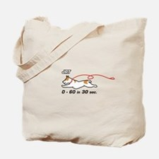JRT 0-60 in 30 sec. Tote Bag