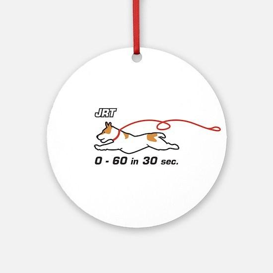 JRT 0-60 in 30 sec. Ornament (Round)