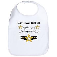 National Guard Grandpa Defend Bib