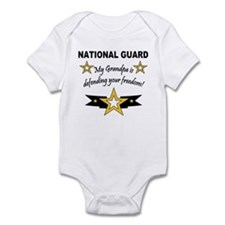National Guard Grandpa Defend Infant Creeper