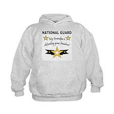 National Guard Grandpa Defend Hoodie
