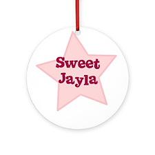 Sweet Jayla Ornament (Round)