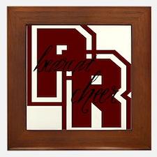 PR bearcat cheer (1) Framed Tile
