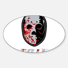 TGIF Jason Oval Decal