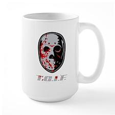 TGIF Jason Coffee Mug
