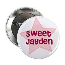 """Sweet Jayden 2.25"""" Button (10 pack)"""