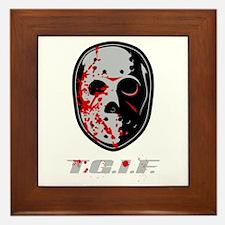 TGIF Jason Framed Tile