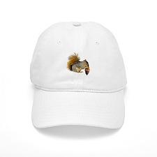 Squirrel Eating Acorn Baseball Cap