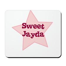 Sweet Jayda Mousepad